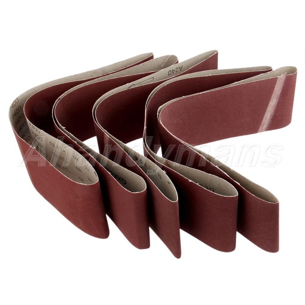 915mm 100mm Sander Abrasive Paper Tool Grinding Sanding Belts 150 400 Grit Ebay