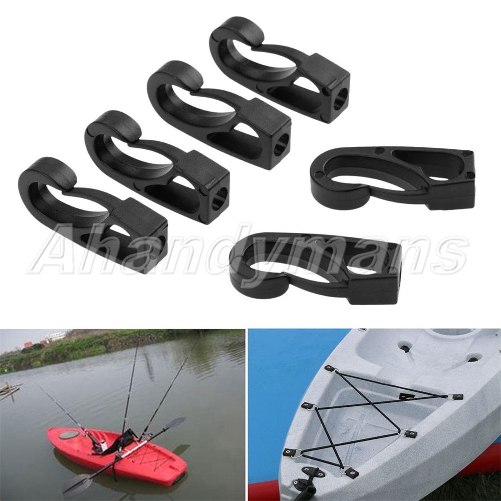 Bungee Cord Connect Piragua Holder Pirogue Kayak Canoe Sailing Rope Buckle New